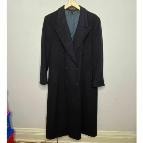 Brooks Brothers Navy Long Peacoat | Size 12