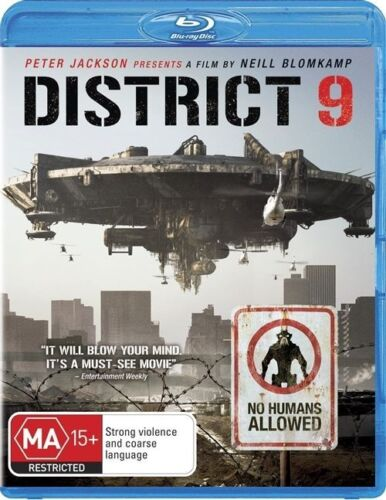 1 of 1 - District 9 (Blu-ray, 2009) +Priority Post