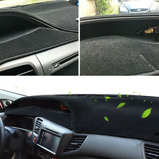 FIT FOR 12-15 HONDA CIVIC DASH MAT DASHBOARD DASHMAT COVER PAD SUN SHADE PAD