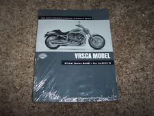 2002 Harley Davidson VRSCA V-Rod Electrical Diagnosis Wiring Diagram Manual Book