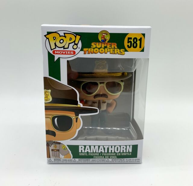 Super Troopers Ramathorn Vinyl Figure Item #581 new Funko Pop Movies