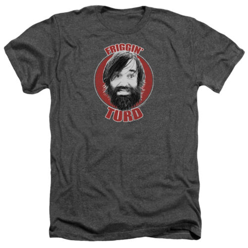 Last Man on Earth TV Show Phil Miller FRIGGIN/' TURD Heather T-Shirt All Sizes