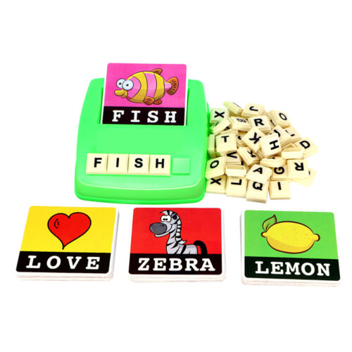 Kids Spelling Alphabet Letter Game Early Learning Educational Development Toy