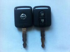 1x Nissan micra note navara qashqai 2 button remote alarm key fob