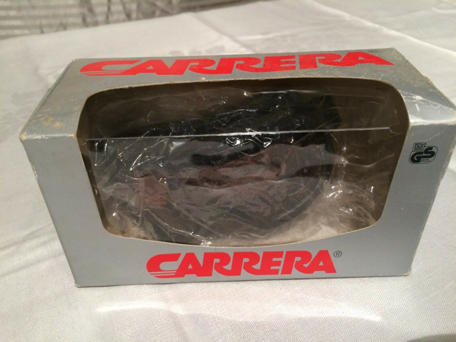 Vintage Carrera Ski Goggles Competition Hyper Red Everclear NOS