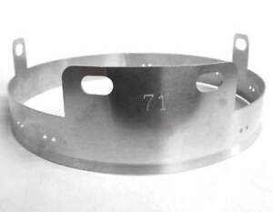 German-Helmet-Liner-Band-M38-WW2-Paratrooper-Aluminium-Fallschirmjager-WWII-ET71