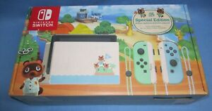 Nintendo Switch Animal Crossing New Horizon Edition .. new in open box