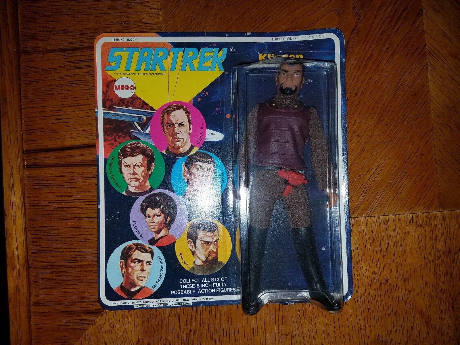 STAR TREK Klingon, MEGO 1974 NIB