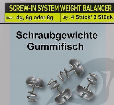 Gummifische Zubehör Daiwa Prorex Screw-In Weight Balancer 8g
