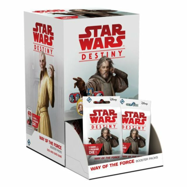 Star Wars Destiny Way of the Force Booster Box NEW