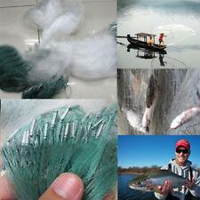 30M x1.2M Clear Green White Fishing Fish Mesh Trap Monofilament Nylon Gill Net