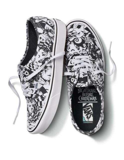 VANS X Nightmare Before Christmas Shoes