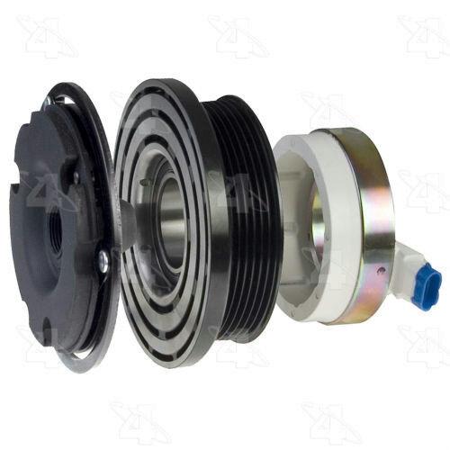 AC Compressor Clubth Assy w//Coil GM Harrison DA6 HR6 HT6 HE6 R47655