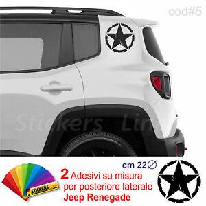 2-Adesivi-Stella-Militare-su-misura-posteriore-laterale-Jeep-Renegade-us-army-c5