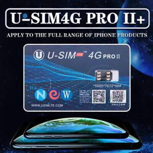 U-SIM 4G Pro II ICCID Nano Unlock SIM Card for iPhone Xs X 8