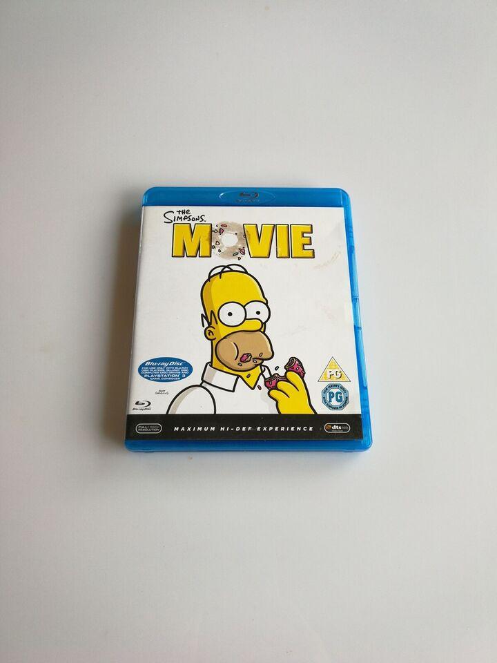 The Simpsons movie, instruktør David Silverman, Blu-ray