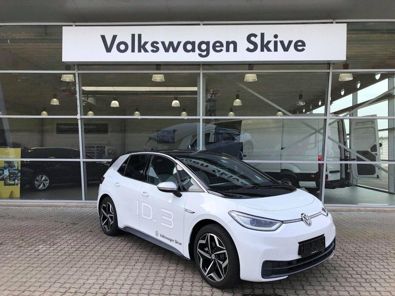 VW ID.3  1ST 5d - 339.900 kr.