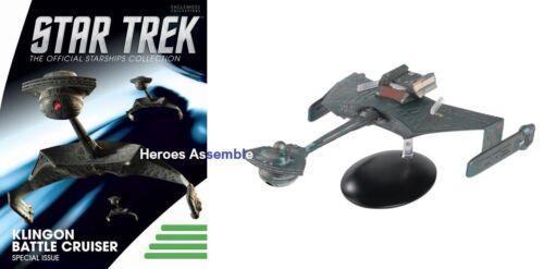 EAGLEMOSS Star Trek Klingon k/'tinga BATTLE CRUISER SPECIALE XL Mega pre-ordine