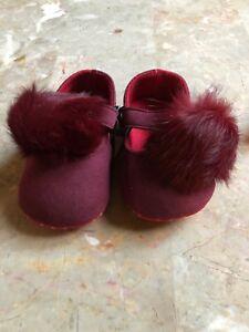 Elsabellababy Burgundy Color Fur Bomb