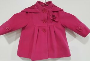 Monsoon Baby Girls Pink Coat Stunning Size 6-12 Months Clearance Price Baby & Toddler Clothing