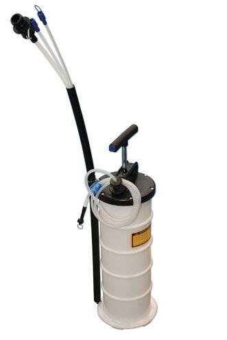 Laser Tools Fluid 5697 Extractor Manual 6.5L - 5697 Fluid 722288