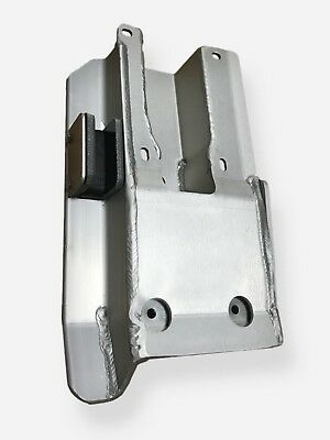 Heavy duty with built in chain guide. Honda TRX450R swingarm skid plate