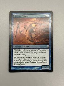 MTG 4x SHADOW SLIVER Time Spiral *All have Shadow*