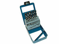 19 Piece Metric High Speed Steel Twist Drill Set