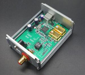 XMOS-U8-Asynchronous-USB-to-Coaxial-Optical-SPDIF-192K-upgrade-TCXO-0-1PPM