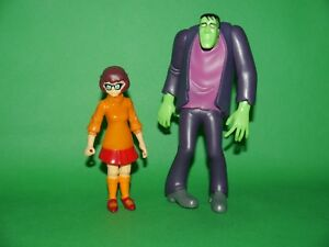 Scooby-Doo-Frankenstein-amp-Velma-Large-amp-Fully-Articulated-Poseable-Figure-NEW