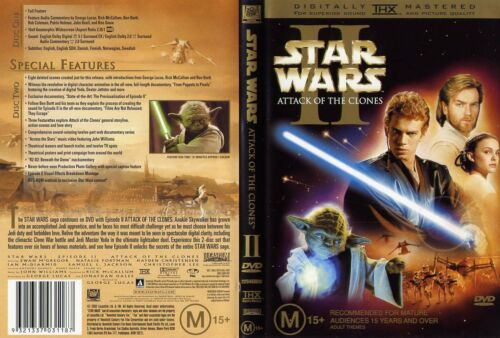 1 of 1 - Star Wars - Episode II - Attack Of The Clones (DVD, 2002)