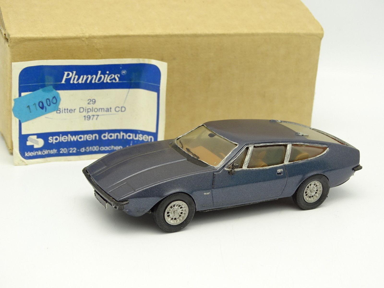 Plumbies Danhausen kit assembled 1 43 - Bitter Diplomat CD 1977 bluee