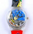 New DC Batman Robin Child boy Quartz Wrist Watch Xmas