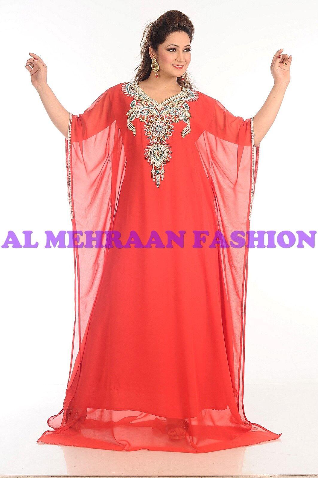 2019    EXCLUSIVE FARASHA FANCY MODERN KAFTAN PARTY ARABIAN FANCY WOMEN DRESS 202 628ed1