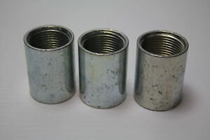 """NEW LOT 3//4/"""" GALVANIZED PIPE THREADED COUPLING FITTINGS PLUMBING 6117675 10"""