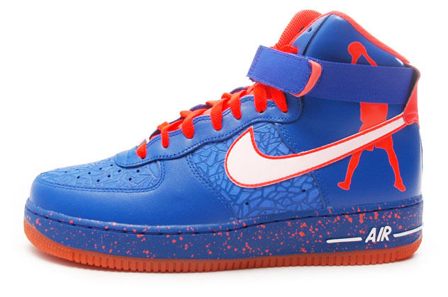 Nike air force di alto dei knicks'rasheed wallace (