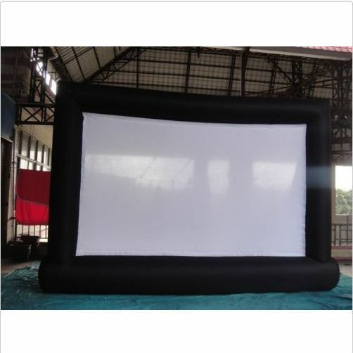 New 74m Giant Inflatable Movie Screen, Outdoor Inflatable Screen With Blower