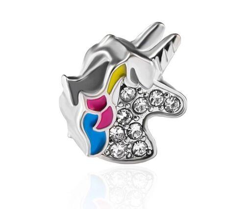 UK Stock CLEARANCE Unicorn Charm For Charm Bracelet Or Necklace