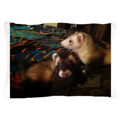 "20/""x30/"" CafePress Adorable Ferrets Standard Size Pillow Case 1223666939"