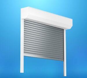 Puerta-Enrollable-Con-Motor-garaje-aluminio-hasta-4m-ANCHO-4-8m-altura