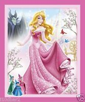Sleeping Beauty Fabric Panel Disney Quilt Top For 2015 Wallhanging Btp