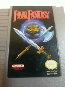 Final-Fantasy-NES-1990-Game-Only-Tested-amp-Working