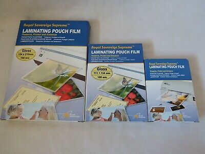 Sleeves Laminating Pockets Sheets All Sizes A3 A4 A5 A6 A7 Lamination Pouches