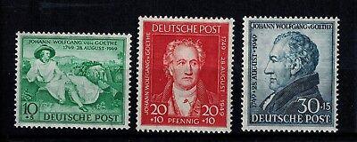 Gut Alliierte Besetzung Amerikanische Und Britische Zone 108 - 110 Postfrisch