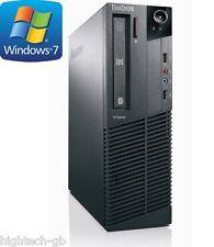 Lenovo ThinkCentre M91p Intel Core i5 2nd Gen 8 GB Ram 500 GB HDD Windows 7 WIFI