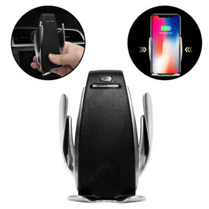 Automatic-Clamping-Wireless-Car-Charger-Air-Vent-Mount-Holder-For-iPhone-Android