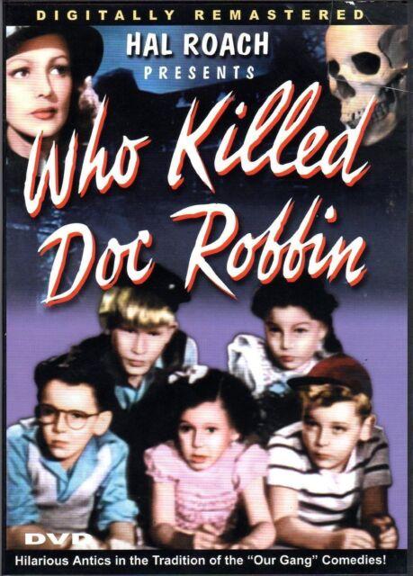 Who Killed Doc Robbin (DVD, 2006) NEW