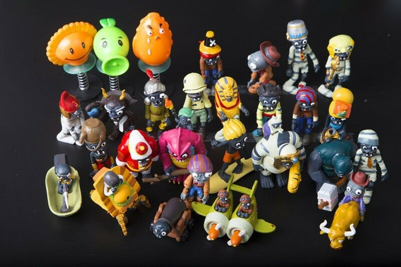 58Pcs Plants Plants Plants Vs. Zombies0(Plantes Contre Zombie) Figurine Collection Poupée T Cw 77d608