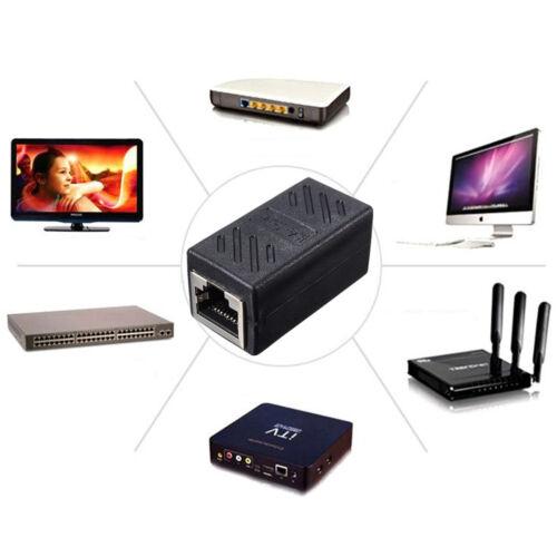 RJ45 Female to Female Network Ethernet Connector Adapter Coupler Extender