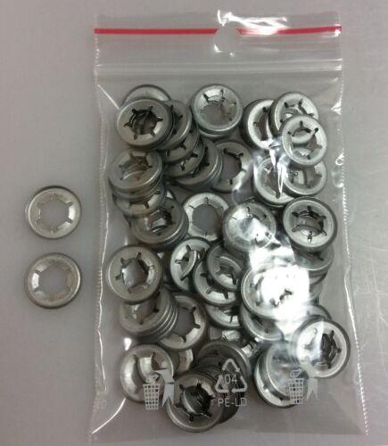 100 Stück 8 mm Sicherungsscheiben Starlock Speed Locks